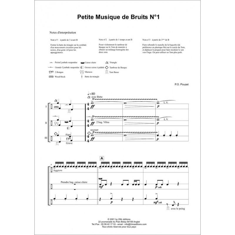 Petite Musique de Bruits n°1