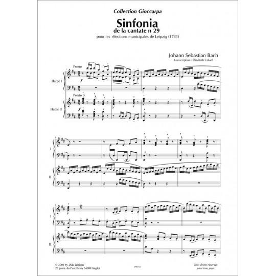 Sinfonia  JS Bach