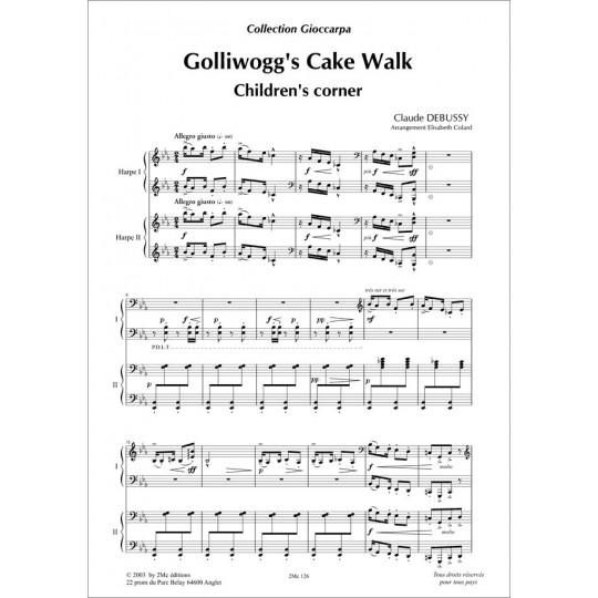 Debussy Golliwog's cake walk