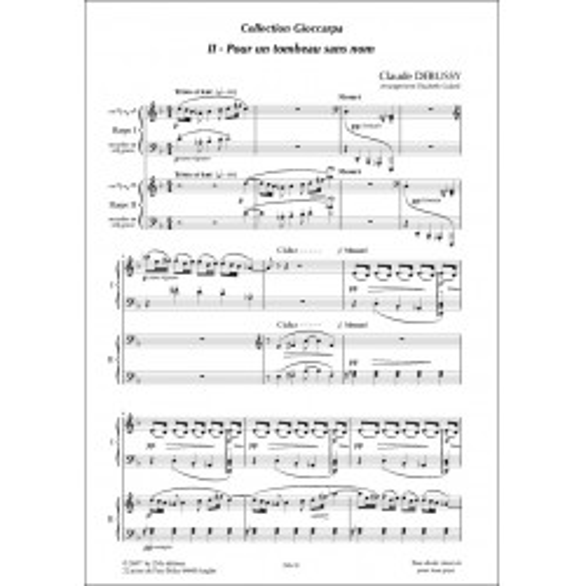 Debussy Pour un tombeau sans nom