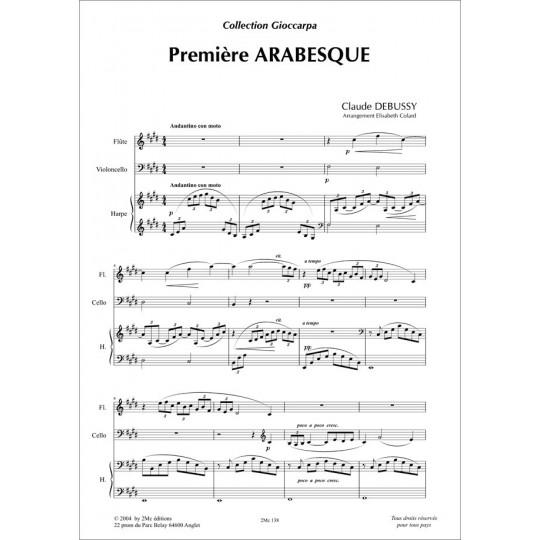 Debussy Première arabesque