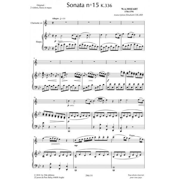 Mozart Sonata n°15 k336