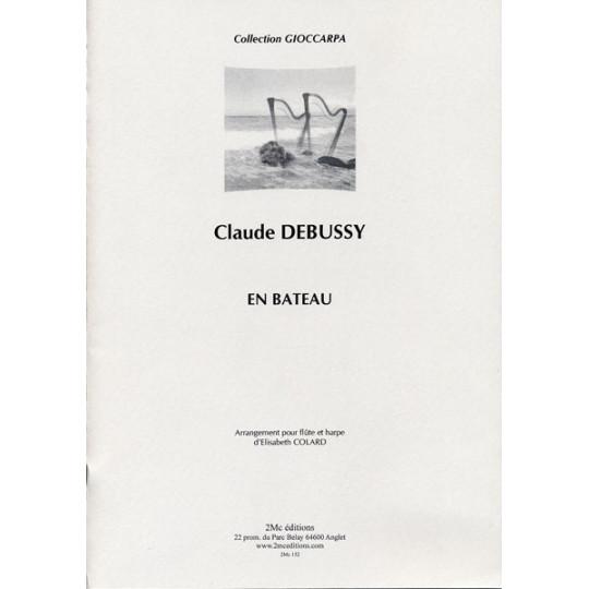 En Bateau  Claude Debussy  (flûte et harpe)