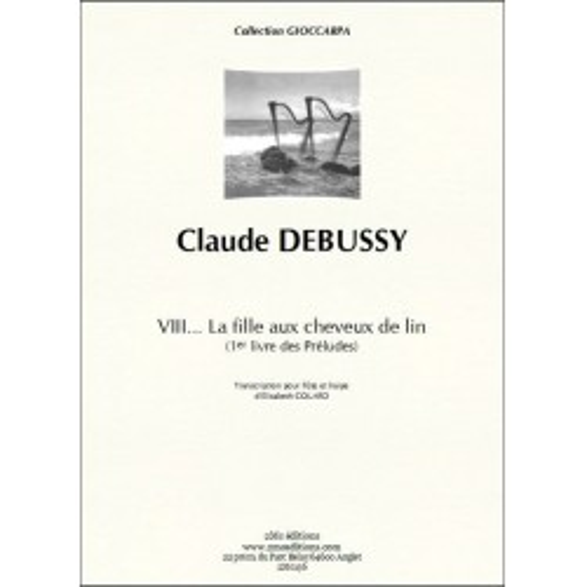 Claude Debussy  La fille aux cheveux de Lin (flûte et harpe)