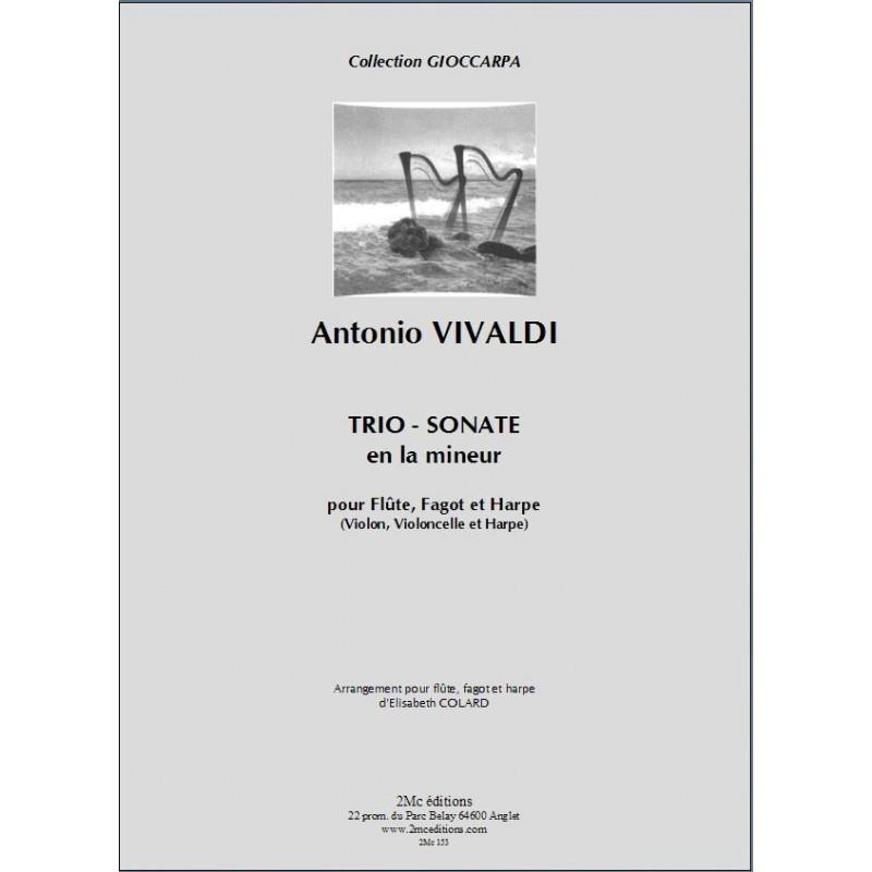 Vivaldi - Trio sonate en La mineur (fl,fgt,hp ou vln,vlc et hp)