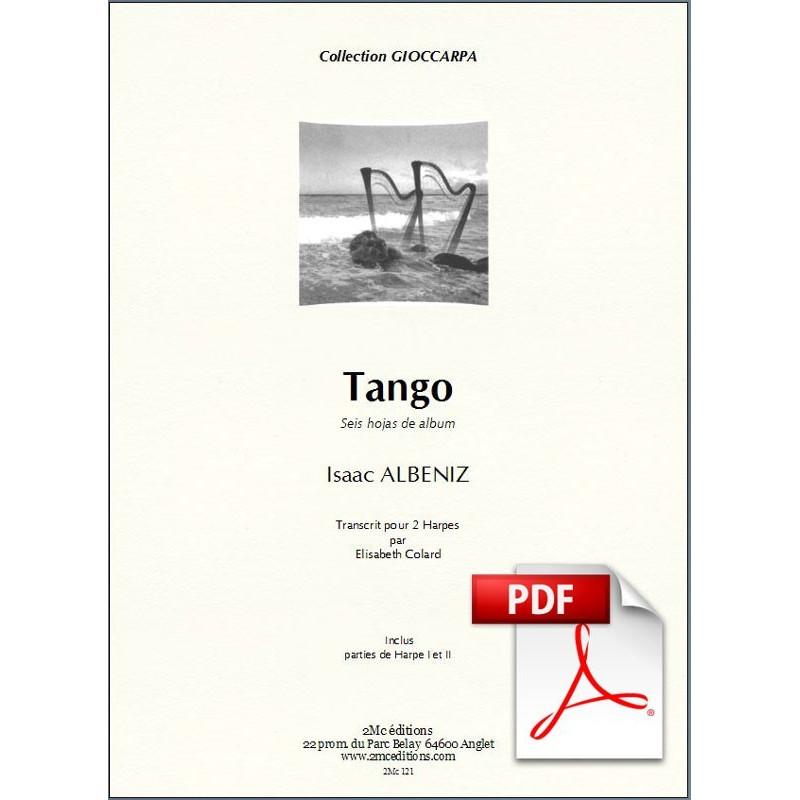 Tango - Albeniz pdf