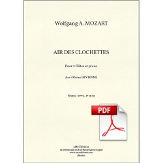Air des Clochettes pdf
