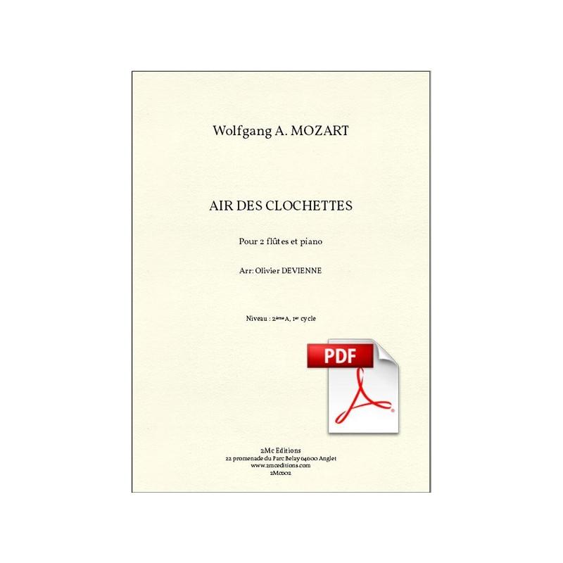 Mozart Air des Clochettes pdf