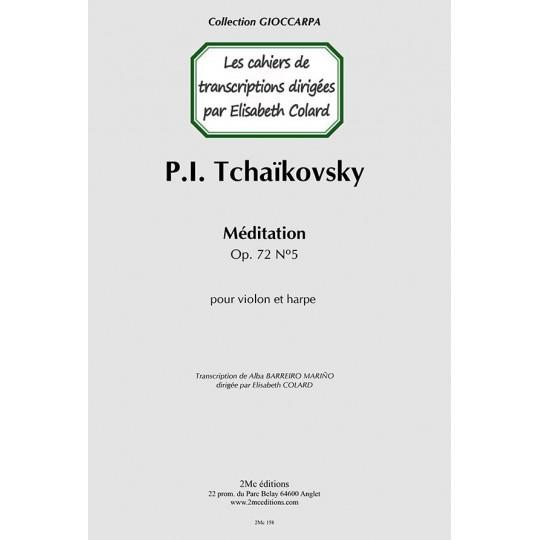 Tchaikovsky Méditation (violon & harpe)