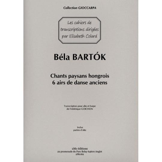 Bartok 6 airs de danse anciens