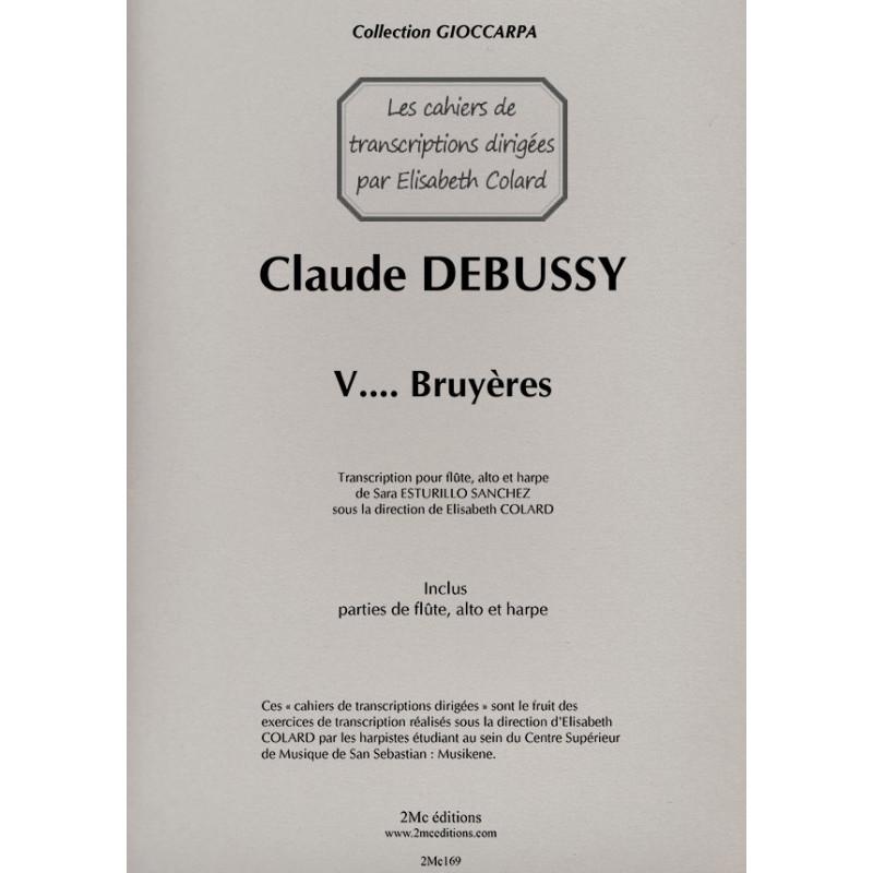 Debussy  Bruyères pour flûte, alto et harpe