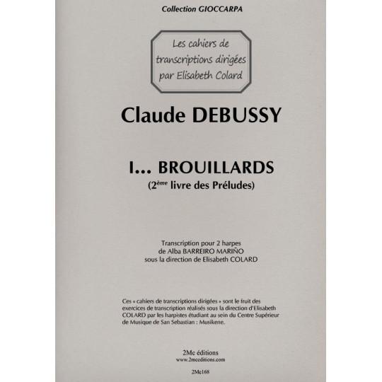 Debussy Brouillards pour deux harpes
