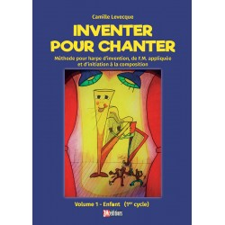 Inventer pour chanter couverture