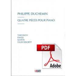 Quatre pièces pour piano - Pdf