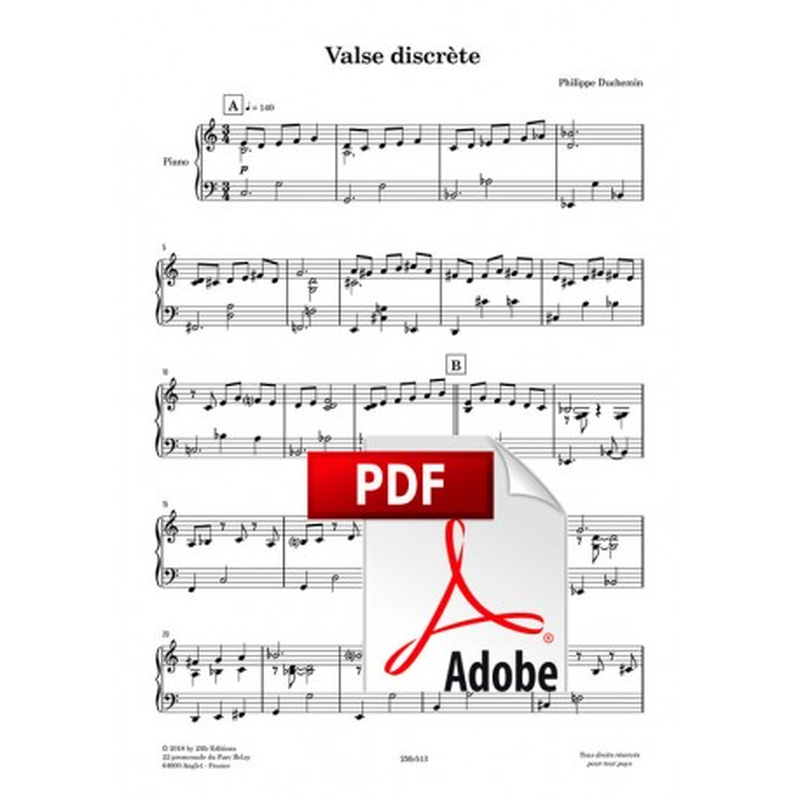 Valse discrète - Ph. Duchemin