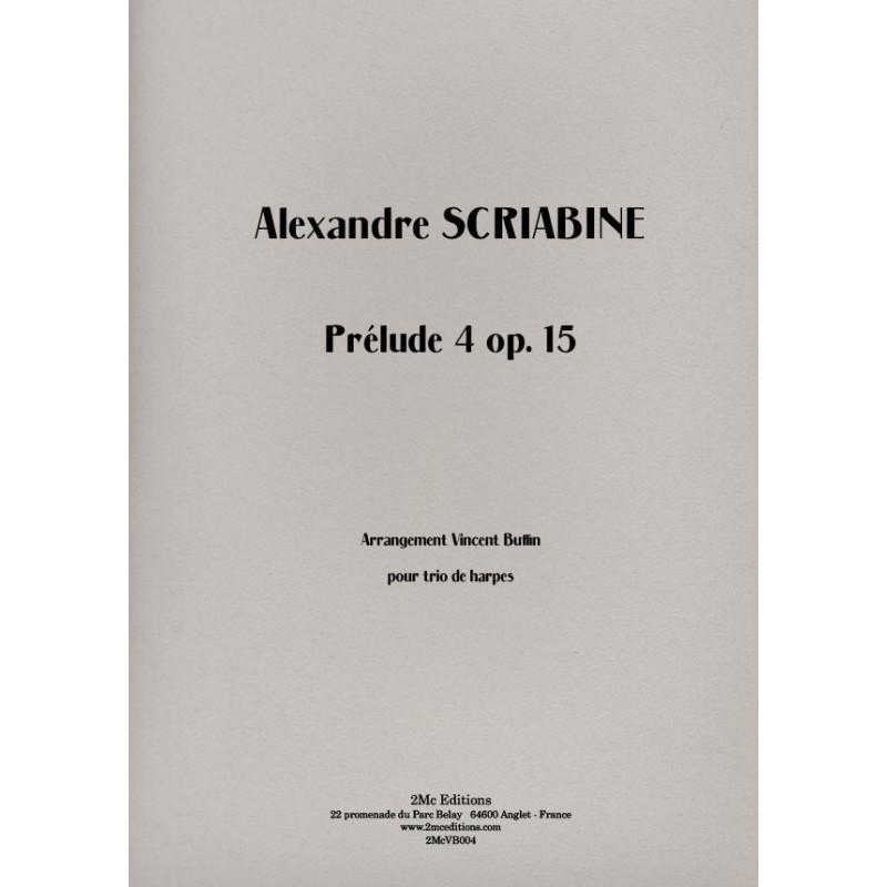 Scriabine - Prélude 4 op.15
