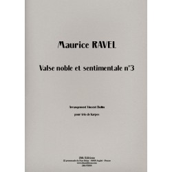 Ravel Valse noble et sentimentale n°3
