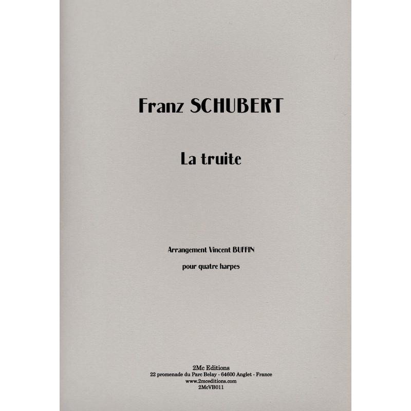 Schubert  La truite 4 harpes