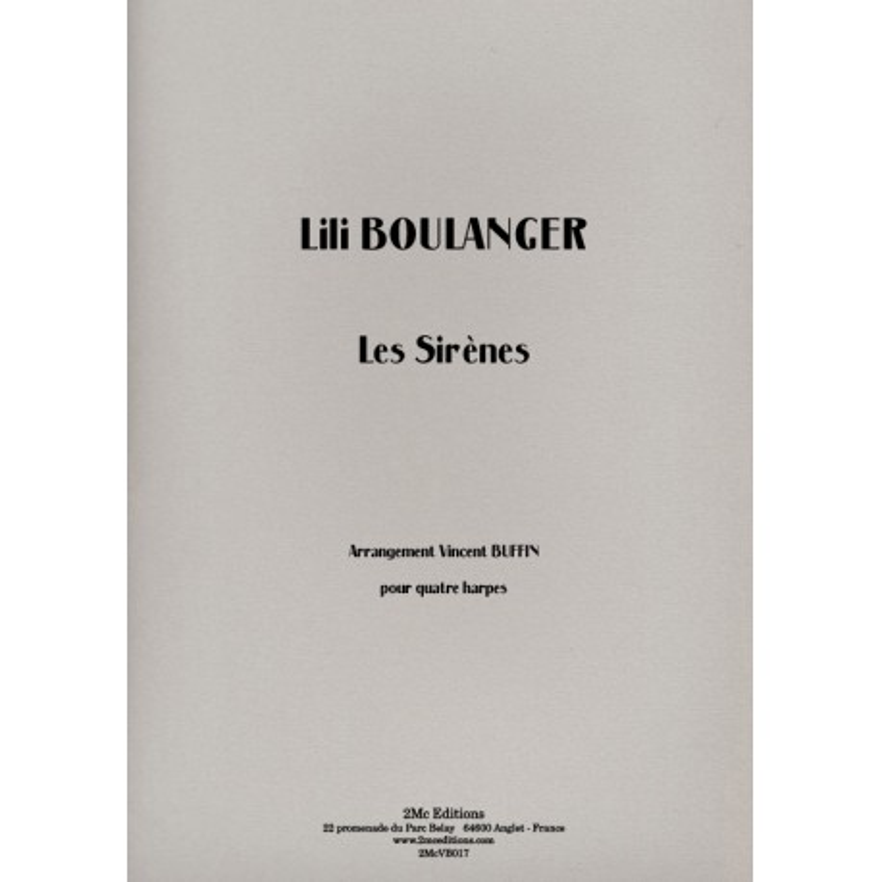 Lili Boulanger Les sirènes