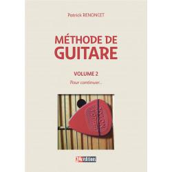 Méthode de guitare Volume 2  P. Renoncet