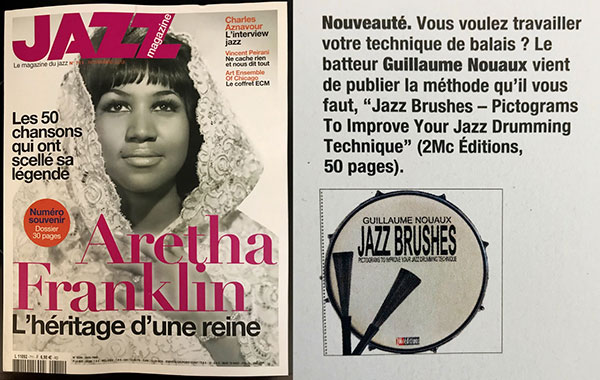 Jazz Brushes dans Jazz Magazine
